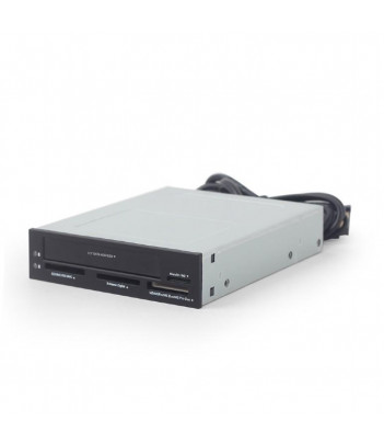 """Czytnik kart pamięci USB Gembird z wnęką SATA 2.5"""" HDD/SSD"""
