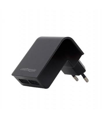 Ładowarka sieciowa USB Gembird z dwoma wyjściami USB