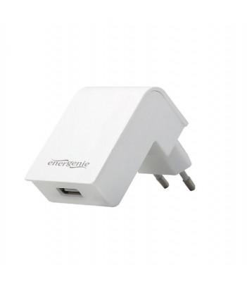 Ładowarka sieciowa USB Gembird (biała)