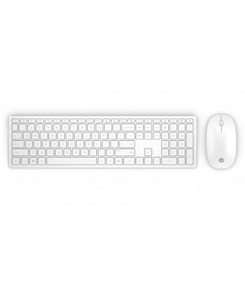 Zestaw bezprzewodowy klawiatura i mysz HP Pavilion 800 (biały)