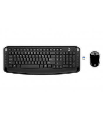 Zestaw bezprzewodowy klawiatura i mysz HP 300