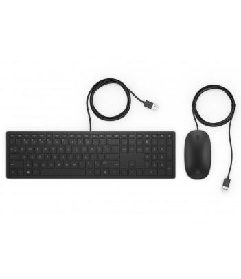 Zestaw przewodowy klawiatura i mysz HP Pavilion 400