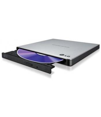 Nagrywarka zewnętrzna DVD -/+ R/RW Slim USB LG GP57ES40 (srebrna)