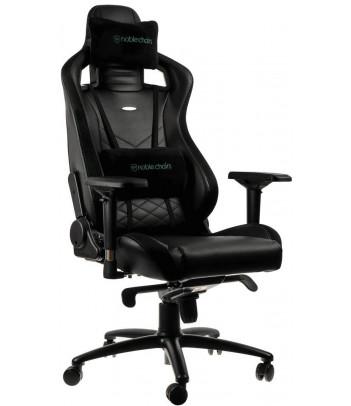 Fotel dla gracza Noblechairs EPIC (czarno-zielony)