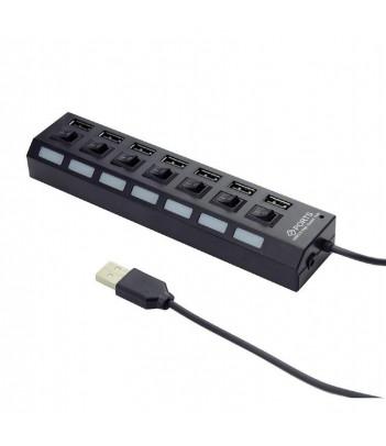 Hub USB 2.0 Gembird UHB-U2P7-03