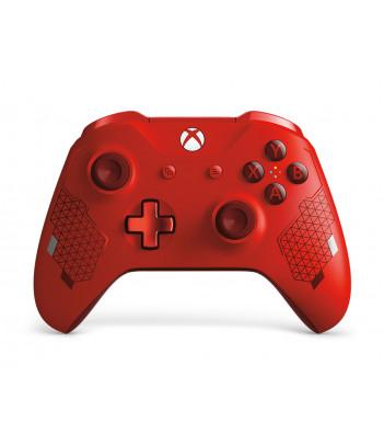 Kontroler bezprzewodowy Microsoft do konsoli Xbox One - edycja specjalna Sport Red