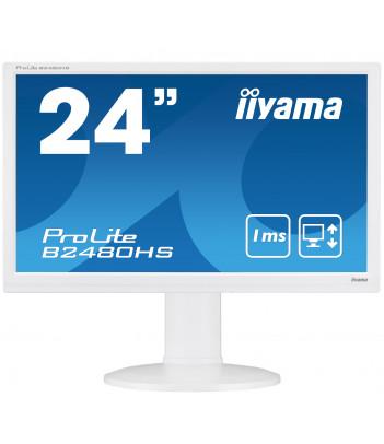 """iiyama 23.6"""" TN B2480HS-W2 (GWARANCJA ZERO MARTWYCH PIXELI)"""