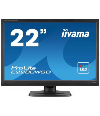 """iiyama 22"""" TN E2280WSD-B1 (GWARANCJA ZERO MARTWYCH PIXELI)"""