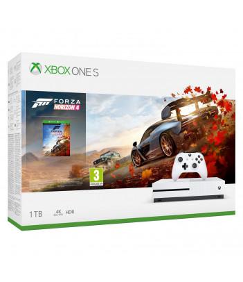 Konsola Xbox One S 1TB z grą Forza Horizon 4