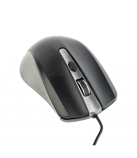 Mysz Gembird MUS-4B-01-GB (szaro-czarna)