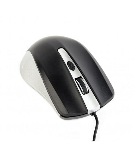 Mysz Gembird MUS-4B-01-SB (srebrno-czarna)