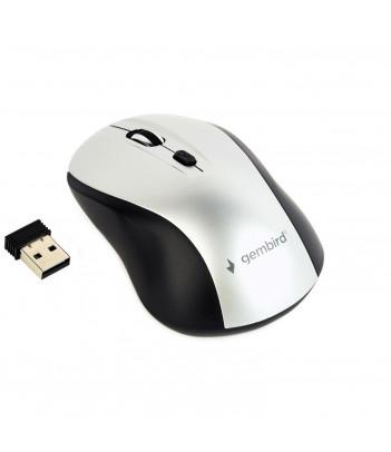 Mysz Gembird MUSW-4B-02-BS (czarno-srebrna)