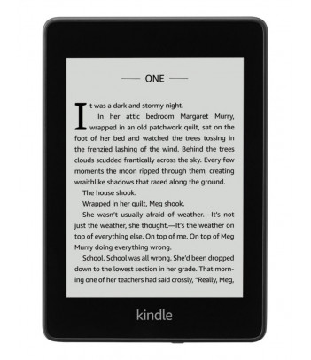 Czytnik e-book Amazon Kindle Paperwhite 4 32GB IPX8, czarny (z reklamami)