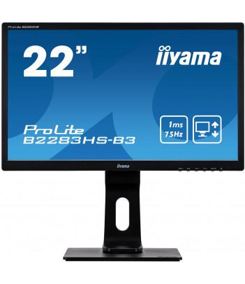 """iiyama 21.5"""" TN B2283HS-B3 C (GWARANCJA ZERO MARTWYCH PIXELI)"""