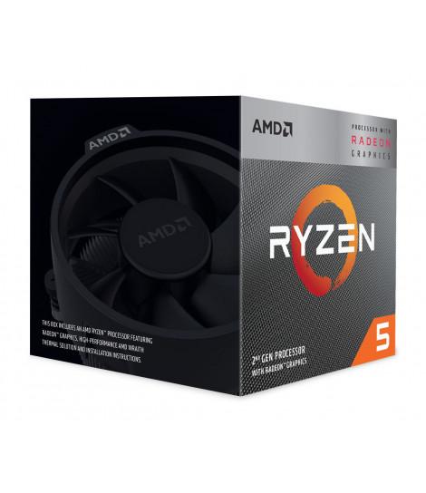 Procesor AMD Ryzen 5 3400G (4M Cache, 3.70 GHz)