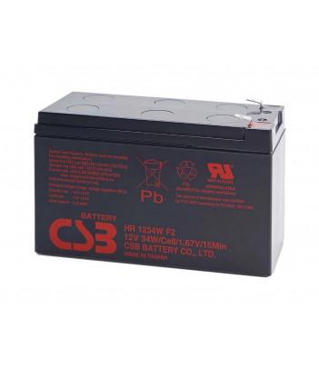 Akumulator żelowy wymienny CSB HR1234W F2