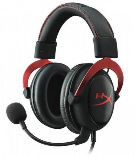 Słuchawki dla graczy HyperX Cloud II (czerwone)