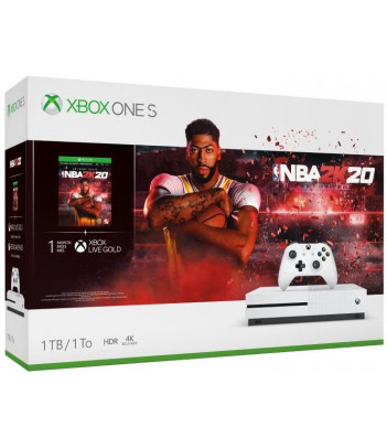 Konsola Xbox One S 1TB z grą NBA 2K20