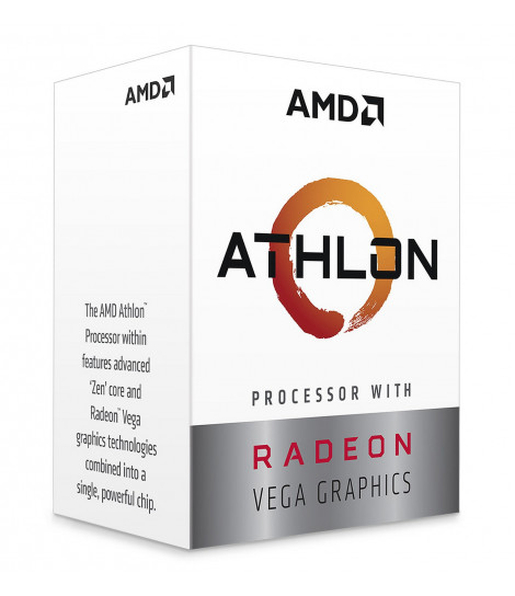 Procesor AMD Athlon 220GE (4M Cache, 3.40 GHz)