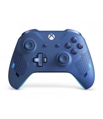 Kontroler bezprzewodowy Microsoft do konsoli Xbox - edycja specjalna Sport Blue
