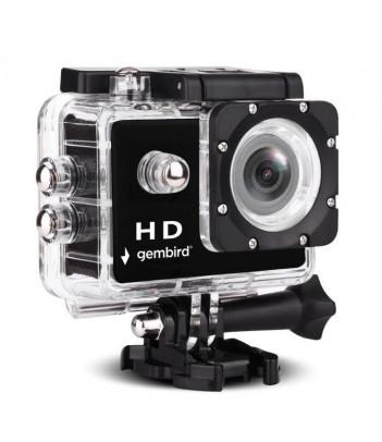 Kamera sportowa Gembird ACAM-04 z wodoszczelną obudową i akcesoriami