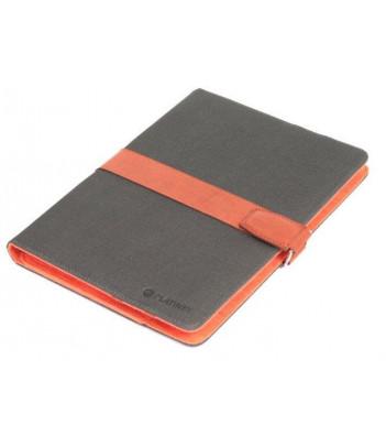 "Etui Platinet Hong Kong uniwersalne do tabletu 7""-7.85"" (szaro-pomarańczowe)"