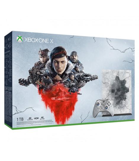 Konsola Xbox One X 1TB wersja limitowana z grami Gears 5 Ultimate Edition, Gears of War Ultimate, Gears of War 2,3,4