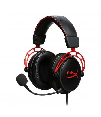 Słuchawki dla graczy HyperX Cloud Alpha (czarno-czerwone)