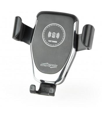 Uchwyt samochodowy na smartfona z bezprzewodową ładowarką QI Gembird EG-TA-CHAV-QI10-01