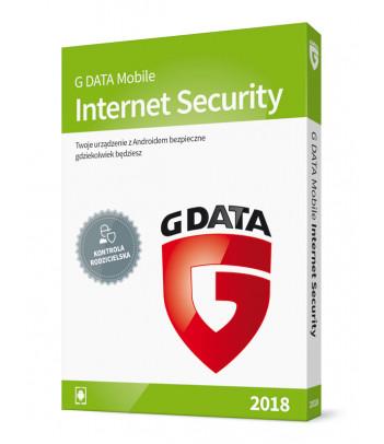 G DATA Mobile Internet Security na 1 rok Android (1 urządzenie)