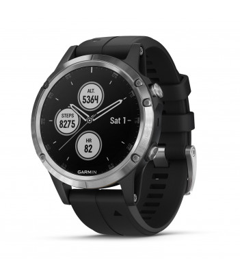 Smartwatch Garmin Fenix 5 Plus (srebrny)