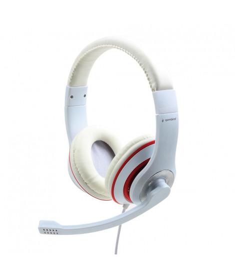 Słuchawki Gembird MHS-03-WTRD