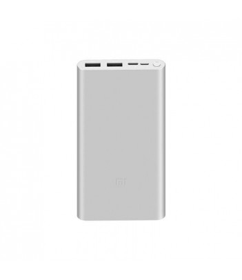 Power Bank Xiaomi Mi 3 10000 mAh (srebrny)