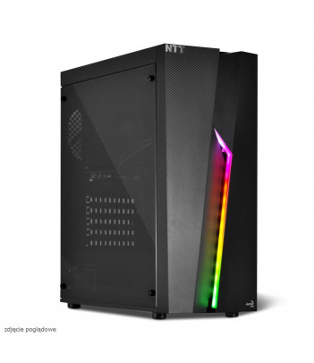 Komputer do gier NTT Game R - i5-9400F, GTX 1660 6GB, 16GB RAM, 1TB HDD, 240GB SSD, W10