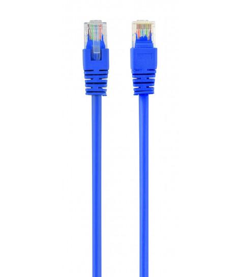 Kabel sieciowy UTP Gembird PP6U-1M/B kat. 6, Patch cord RJ-45 (1 m)