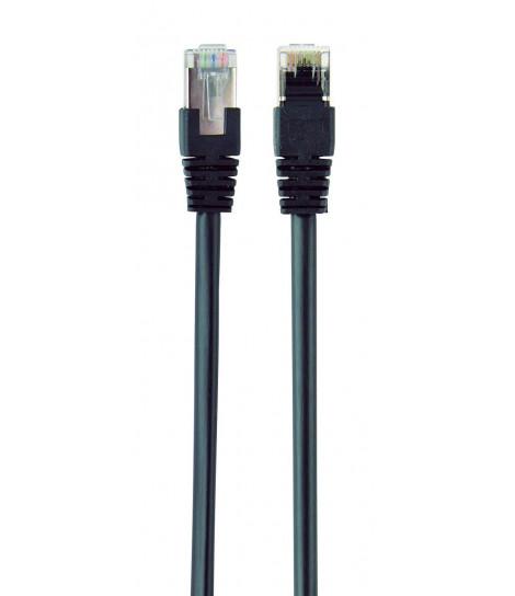 Kabel sieciowy FTP Gembird PP22-0.5M/BK kat. 5e, Patch cord RJ-45 (0,5 m)