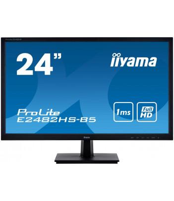 """iiyama 24"""" TN E2482HS-B5 (GWARANCJA ZERO MARTWYCH PIXELI)"""