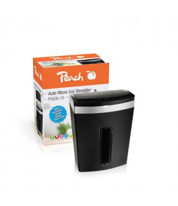 Niszczarka Peach Auto Micro Cut PS600-10