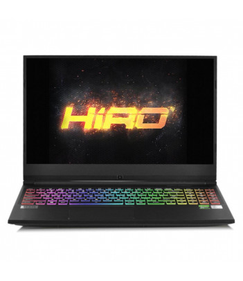 "Laptop do gier HIRO 570 15.6"", 240Hz - i7-10750H, RTX 2070 8GB, 32GB RAM, 1TB SSD M.2, W10"