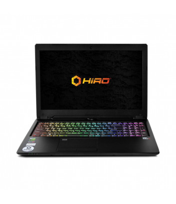 "Laptop do gier HIRO 950ER 15.6"", 144Hz - i7-8750H, GTX 1070 8GB, 16GB RAM, 1TB SSD M.2, W10"