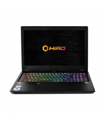 "Laptop do gier HIRO 950ER 15.6"", 144Hz - i7-8750H, GTX 1070 8GB, 8GB RAM, 256GB SSD M.2, W10"