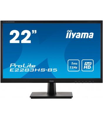 """iiyama 21.5"""" TN E2283HS-B5 (GWARANCJA ZERO MARTWYCH PIXELI)"""