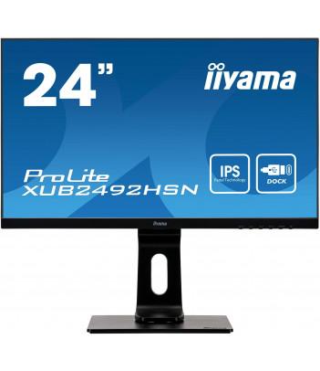 """iiyama 23.8"""" IPS XUB2492HSN-B1 (GWARANCJA ZERO MARTWYCH PIXELI)"""