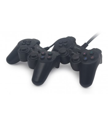 Zestaw dwóch gamepadów Gembird JPD-UDV2-01 (dual vibration)/outlet