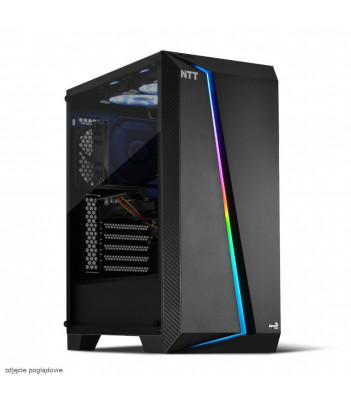 Komputer do gier NTT Game R - i5-10400F, RTX 3060 12GB, 8GB RAM, 480GB SSD, W10