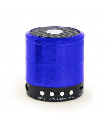 Głośnik przenośny Bluetooth z mikrofonem Gembird SPK-BT-08-B (niebieski)