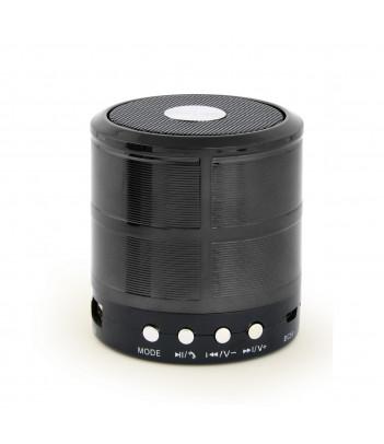 Głośnik przenośny Bluetooth z mikrofonem Gembird SPK-BT-08-BK (czarny)