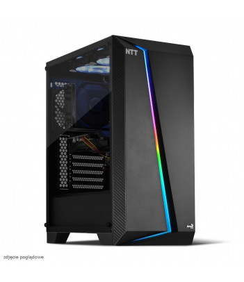 Komputer do gier NTT Game R - Ryzen 7 3700X, RTX 3060 Ti, 16GB RAM, 512GB SSD, W11