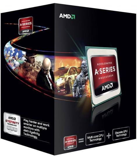Procesor AMD APU A4-6300 (1M Cache, 3.70 GHz)
