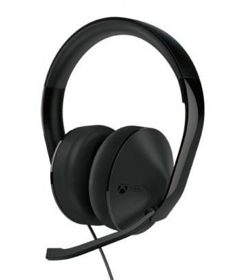 Zestaw słuchawkowy stereo z mikrofonem do Xbox One (czarny)